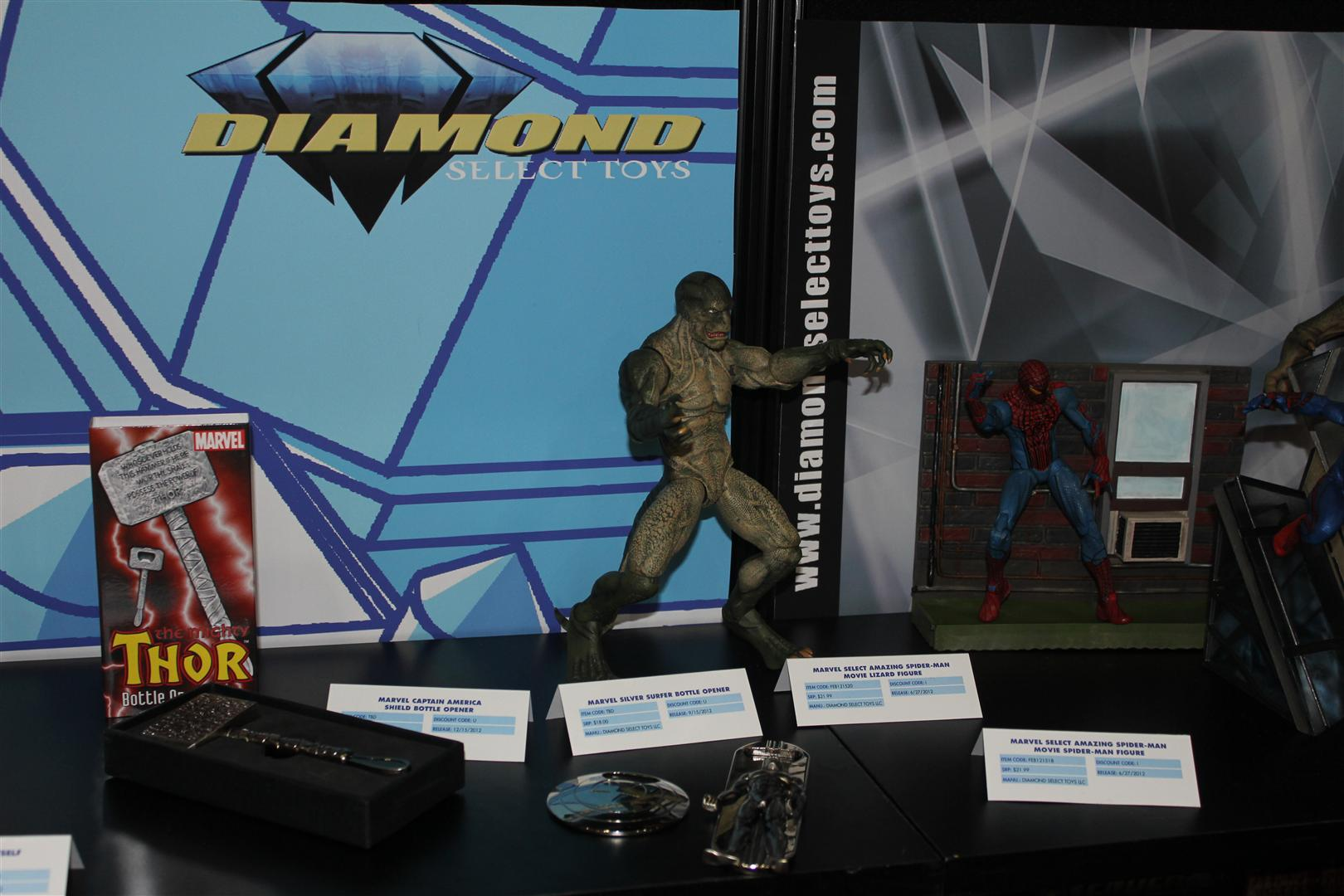 NY Toy Fair 2012 – Diamond Select Toys images and release dates