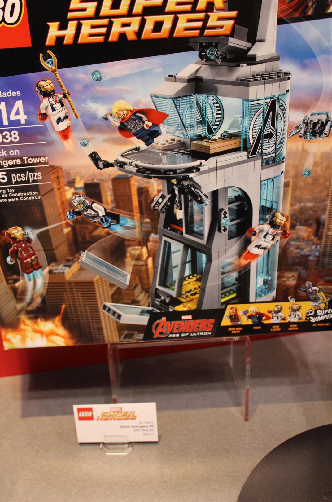 Toy Fair 2015: Lego Booth