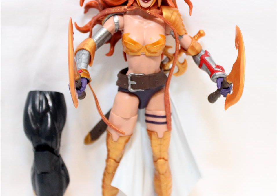 Marvel Legends 2017 Guardians of the Galaxy Wave 1: Angela