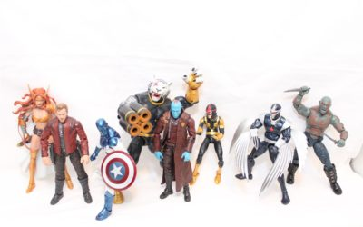 Marvel Legends 2017 Guardians of the Galaxy Wave 1: Group Shots