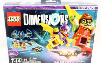 Lego Dimensions Batman Story Pack and Excalibur Batman In Hand Images
