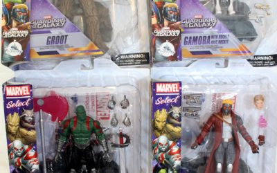 Marvel Select Guardians Of The Galaxy: Group Shots