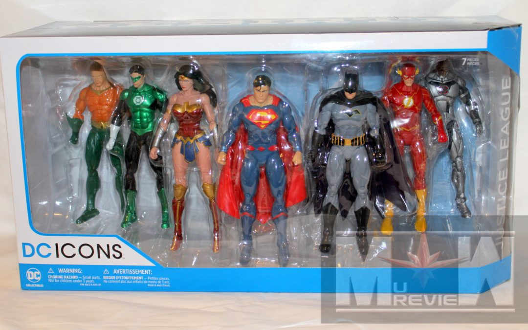 DC Icons Justice League Rebirth Box Set