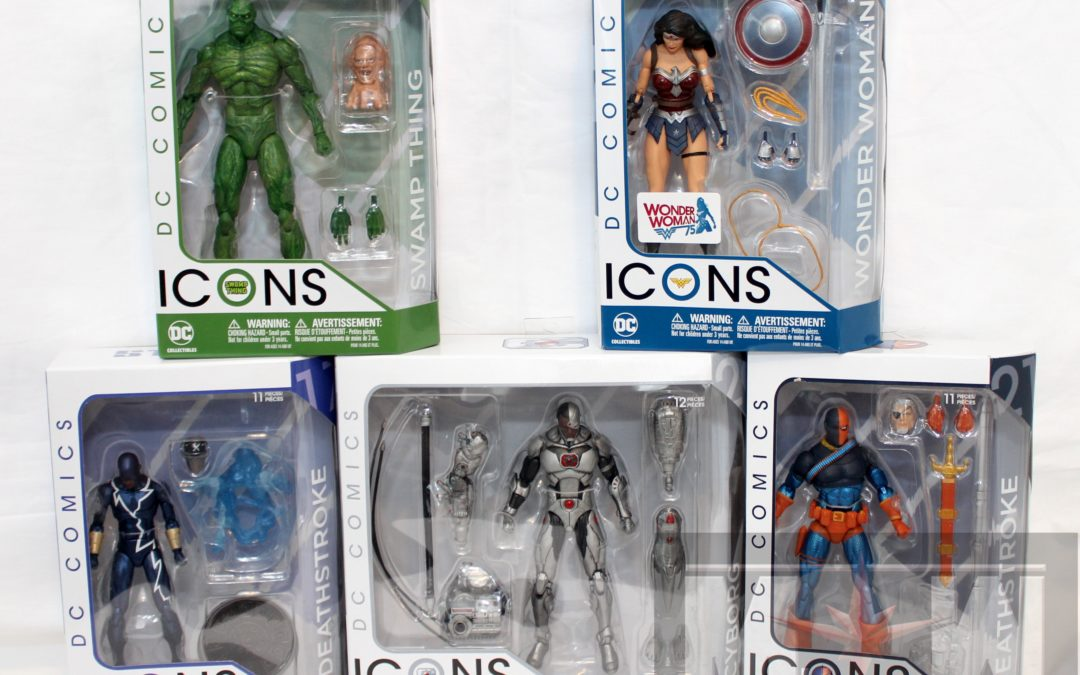DC Icons 2017 Wave 1 Group Shots