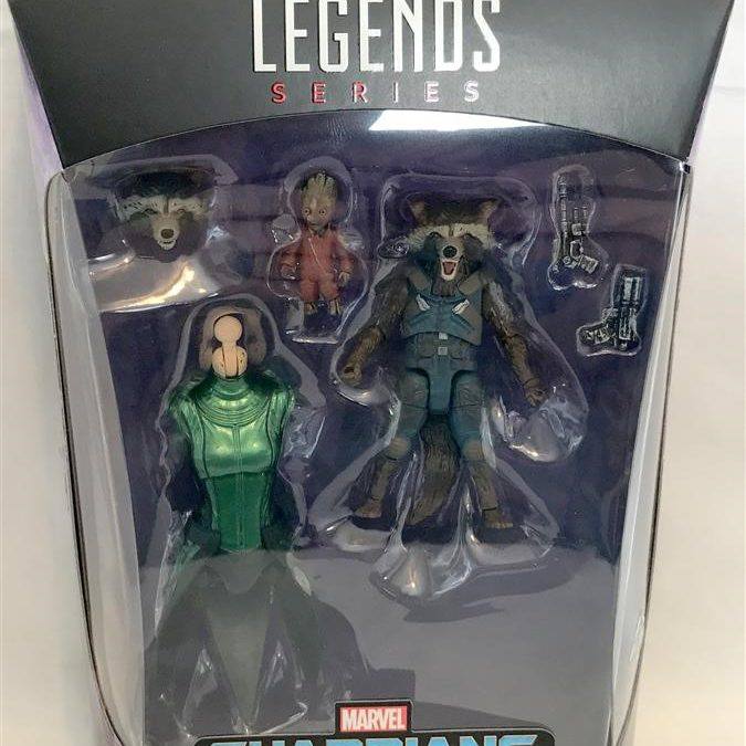 May is for Marvel – Marvel Legends Guardians of the Galaxy Wave 2 2017 – Rocket and Groot