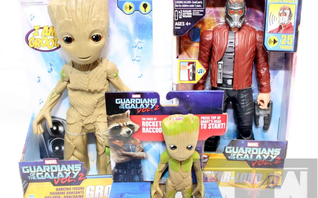 Magic Box: Guardians of the Galaxy Volume 2 Hasbro Toys!