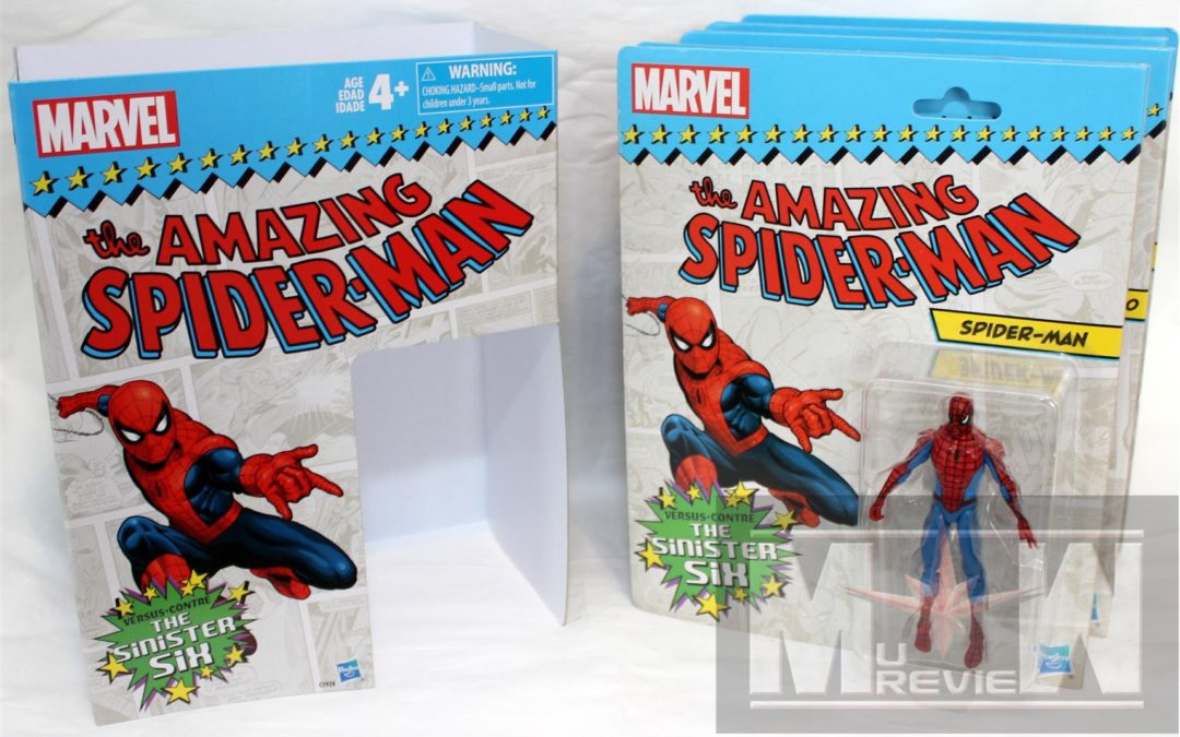 Amazon Exclusive Marvel Legends 3.75″ Sinister Six – Spider-Man Box Set