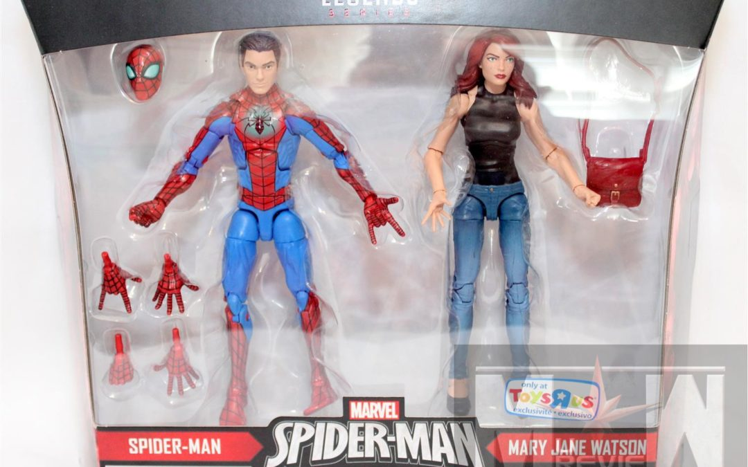 May Is For Marvel – Toys R Us Exclusive Marvel Legends Spider-Man and Mary Jane 2-Pack