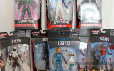 Legends Come Home – Legends Spider-Man Wave 2 2017 – Group Shots