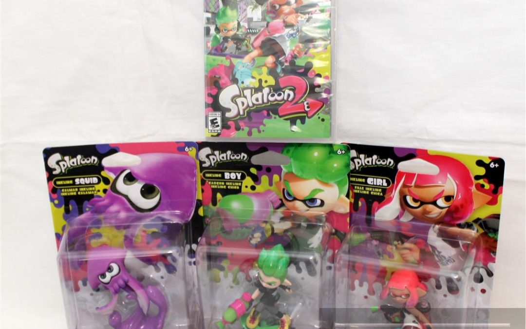 Magic Box: Splatoon 2 and Splatoon 2 Amiibos for Nintendo Switch