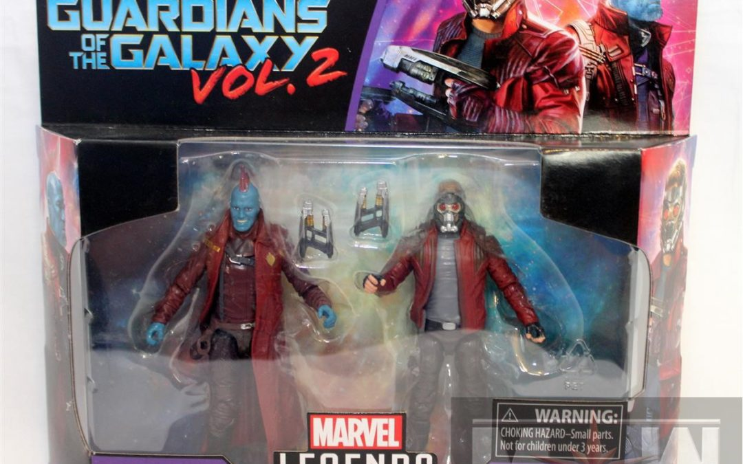 Marvel Legends Star-Lord and Yondu 2-Pack