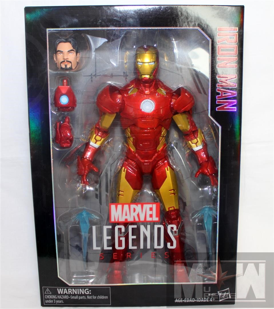 """IRON MAN TONY STARK Marvel Legends Out Of Package 2011 6/"""" Inch ACTION FIGURE"""