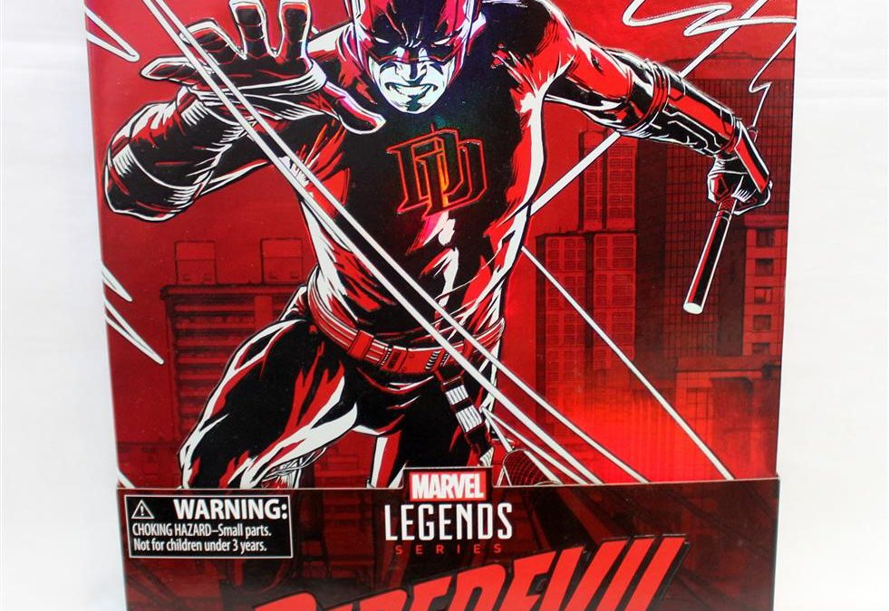 SDCC 2017 Exclusive Hasbro Marvel Legends 12″ Daredevil