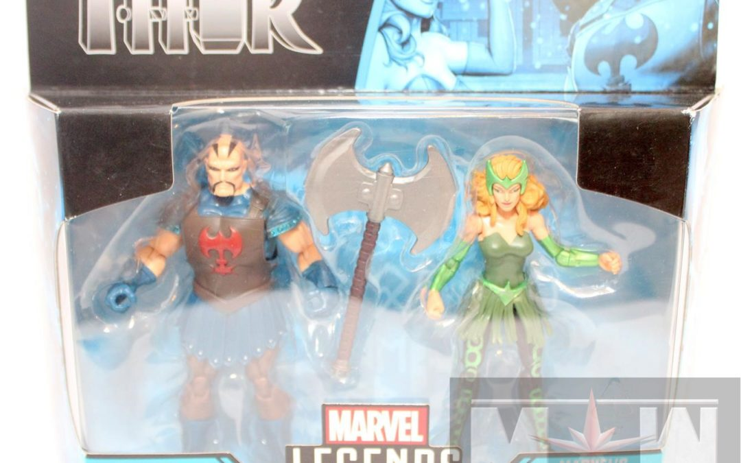 Marvel Legends Executioner and Enchantress 3.75″ 2-Pack