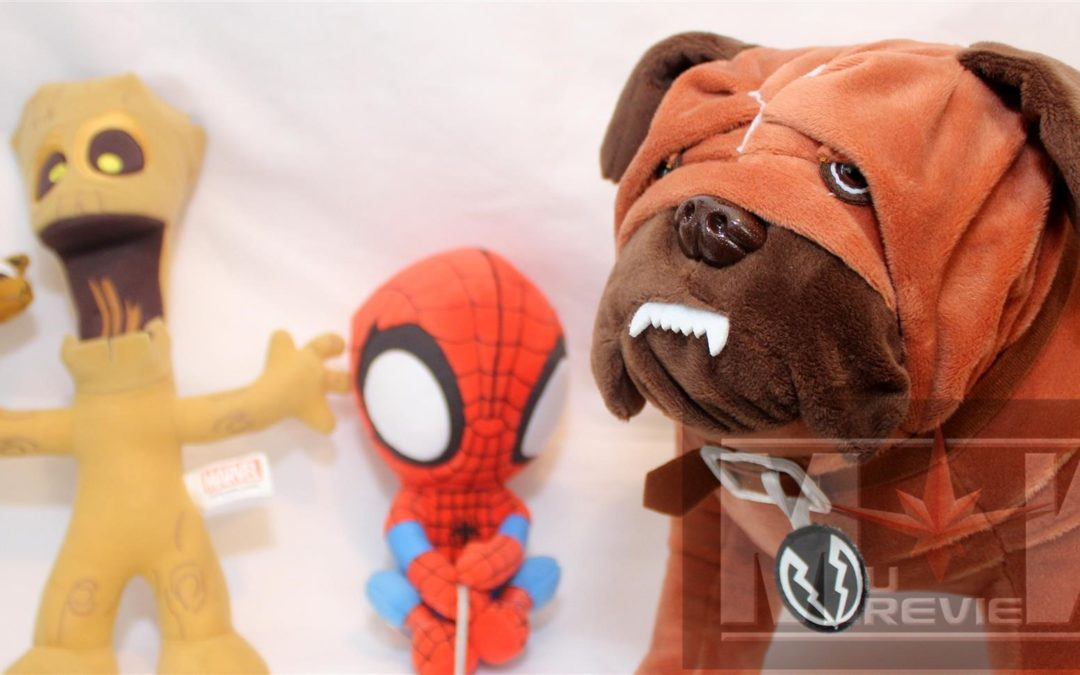 SDCC 2017: Marvel Plush Lockjaw, Scottie Young Groot Rocket and Spidey