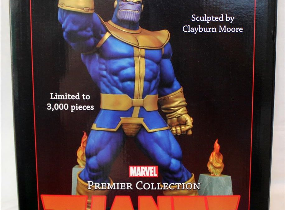 Diamond Select Toys: Marvel Premiere Collection Thanos Resin Statue