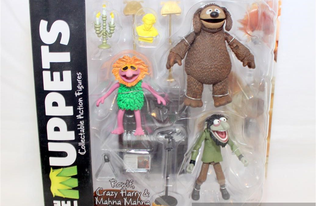 Magic Box: Muppets Select Series 3 Rowlf, Crazy Harry, and Mahna Mahna