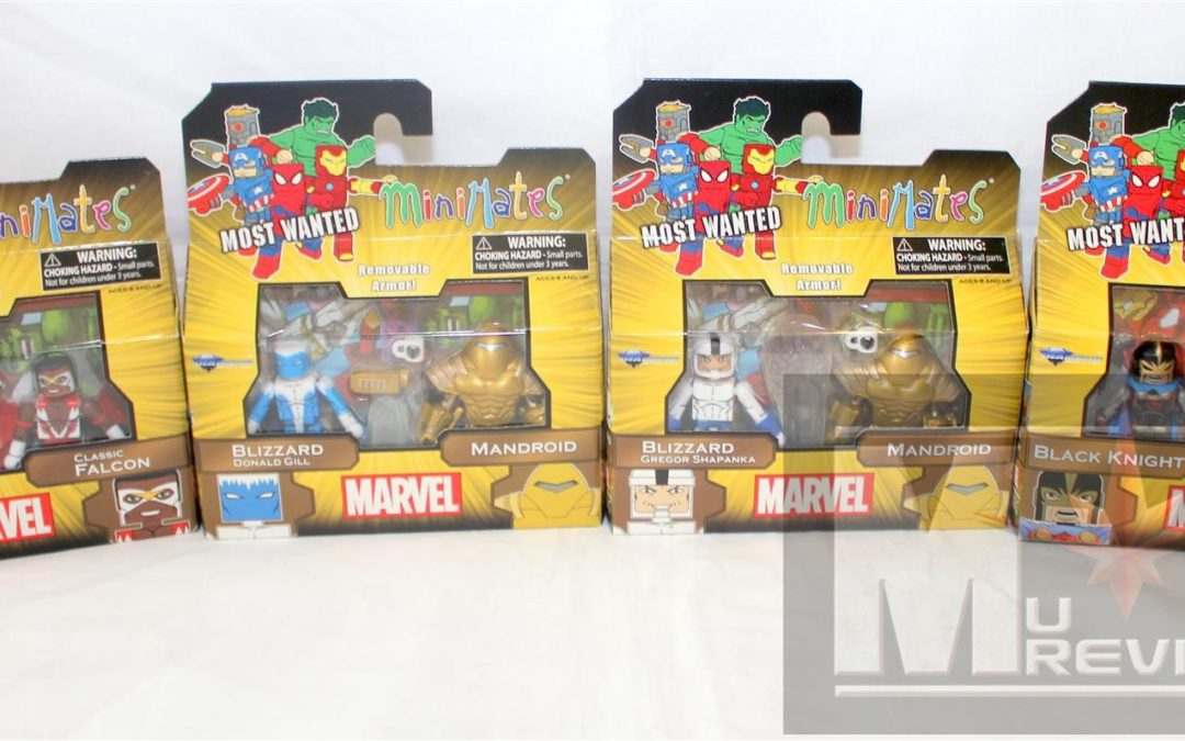 Diamond Select Toys Minimates: Series 69 Most Wanted Group Shots