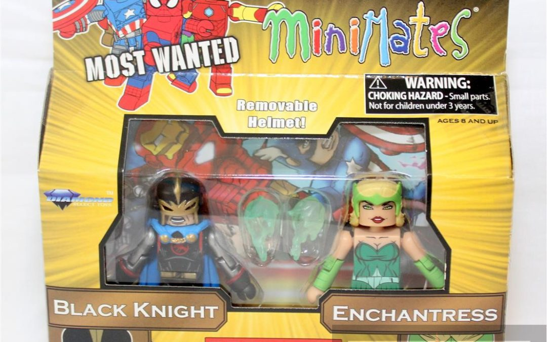 Diamond Select Toys Minimates: Series 69 Most Wanted Black Knight and Enchantress