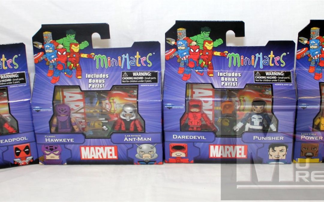 Diamond Select Toys Minimates: Marvel Greatest Hits Series 2 Group Shots