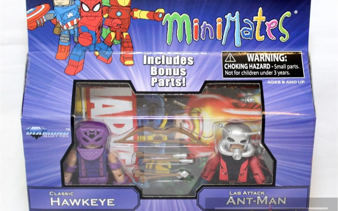 Diamond Select Toys Minimates: Marvel Greatest Hits Series 2 Lab Attack Ant-Man and Hawkeye