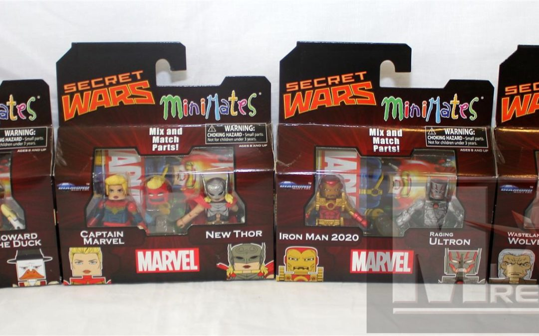 Diamond Select Toys Minimates: Series 64 Secret Wars Group Shots