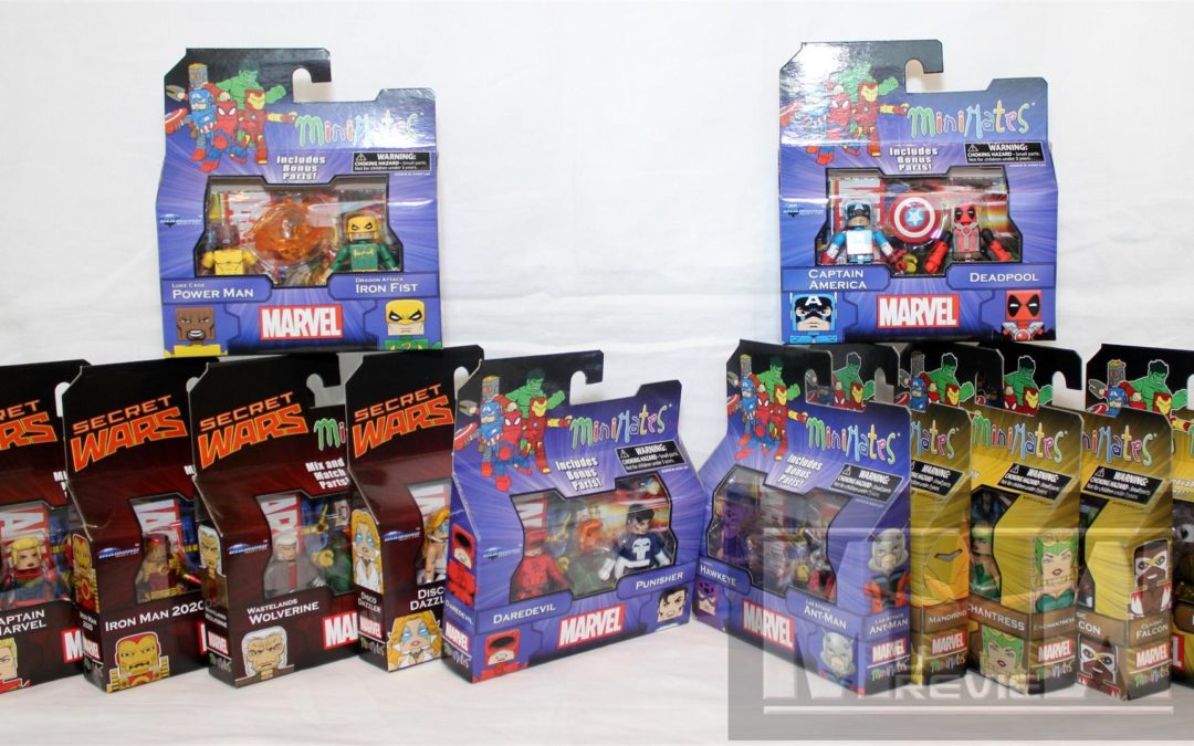 Diamond Select Toys Minimates 64, 69 and Marvel Greatest Hits Series 2 Group Shots