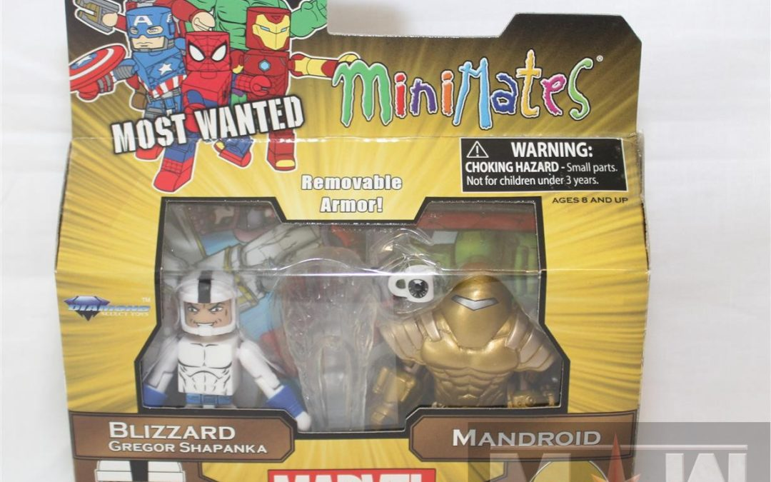 Diamond Select Toys Minimates: Series 69 Most Wanted Blizzard (Shapanka) & Mandroid