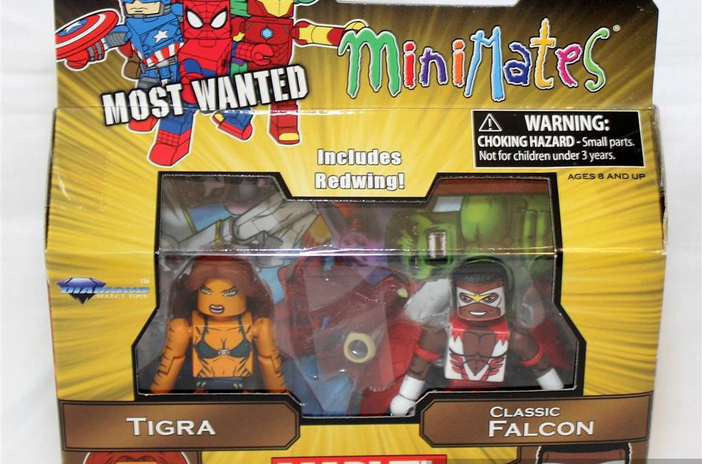 Diamond Select Toys Minimates: Series 69 Most Wanted Tigra and Falcon
