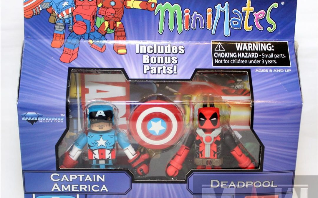 Diamond Select Toys Minimates: Marvel Greatest Hits Series 2 Captain American and Deadpool