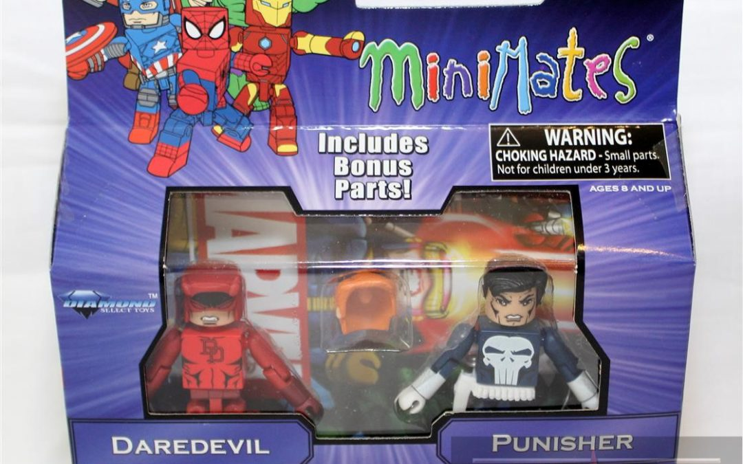 Diamond Select Toys Minimates: Marvel Greatest Hits Series 2 Daredevil and Punisher