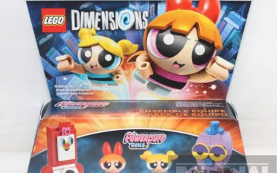 Magic Box: LEGO Dimensions Wave 9 Powerpuff Girls Team Pack Blossom and Bubbles