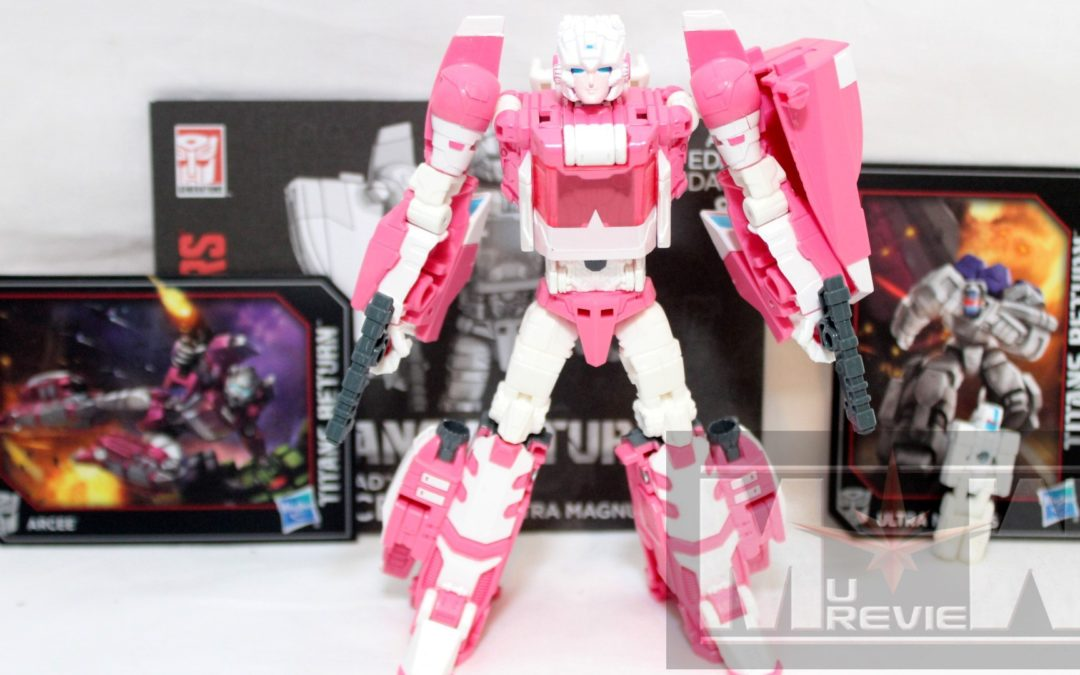 HASCON 2017 Exclusive: Transformers Arcee