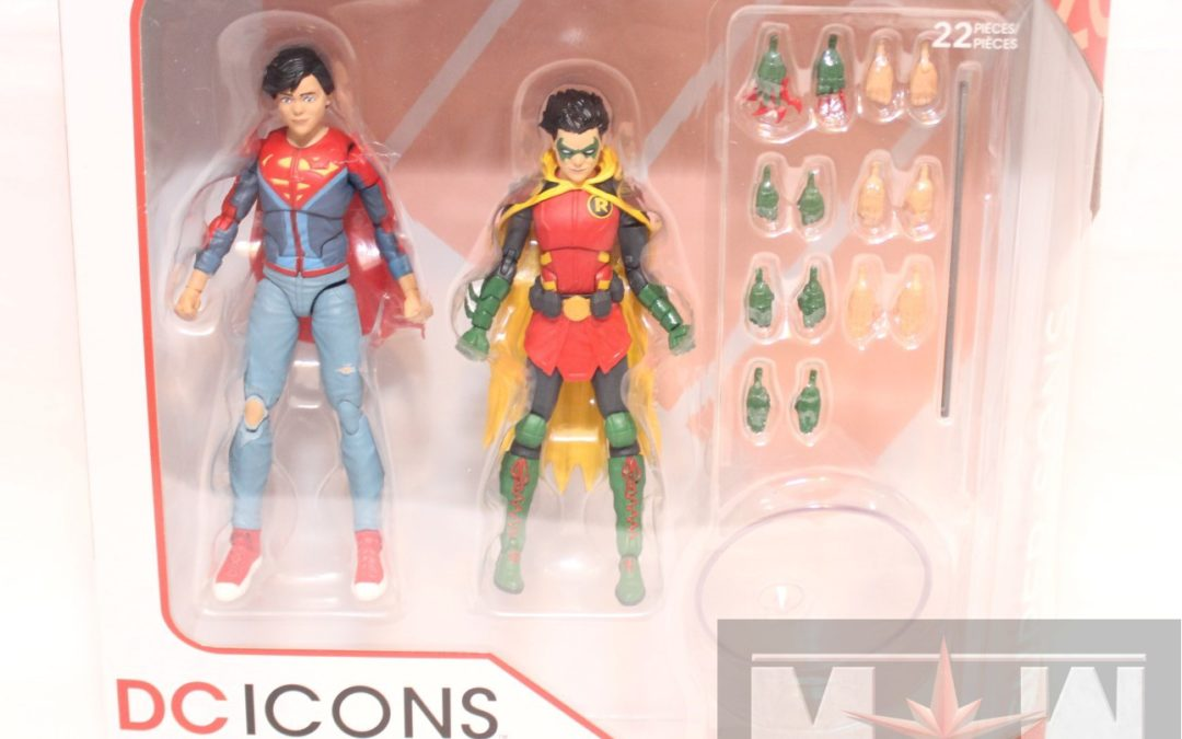 DC Comics Icons Wave 6 Super Sons 2-Pack