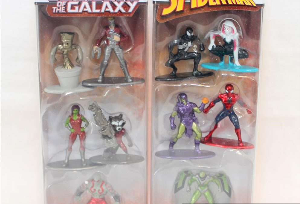 Magic Box: Nano Metalfigs Guardians of the Galaxy and Spider-Man