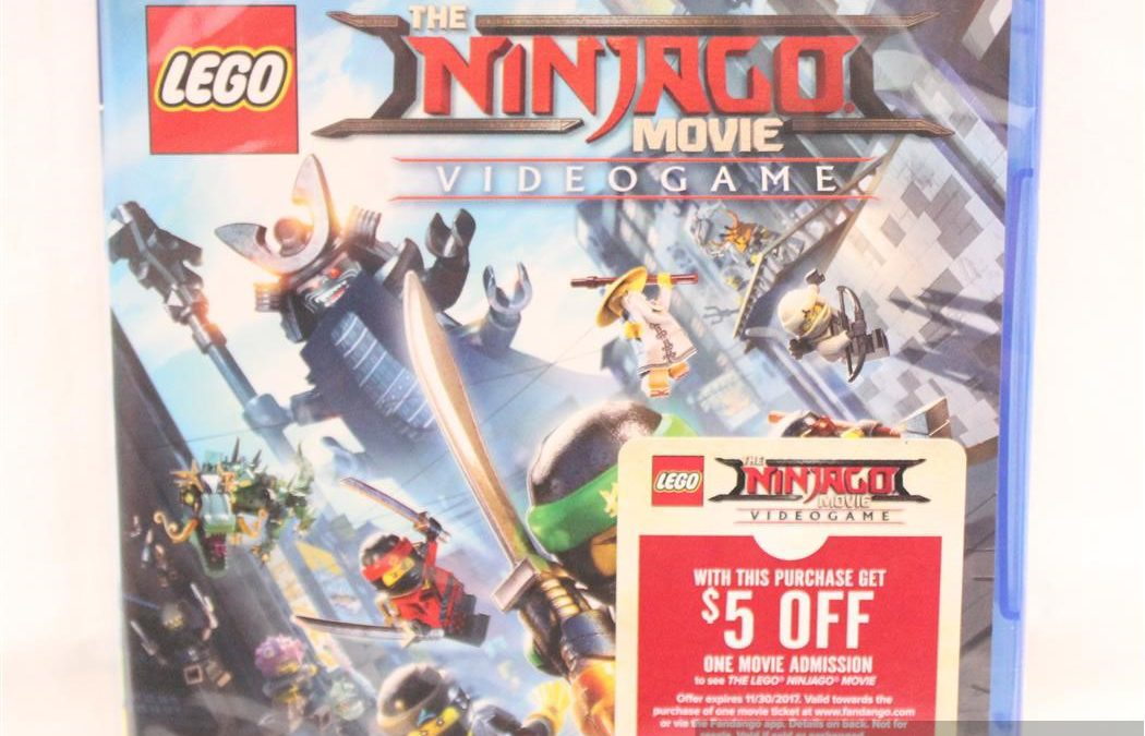 The LEGO Ninjago Movie Videogame for Playstation 4
