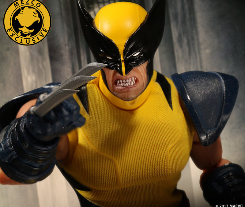 Mezco One:12 Yellow and Blue Wolverine Goes Into Pre-Order Tomorrow Morning