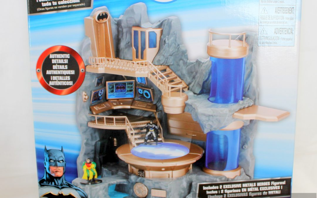 Magic Box: Nano Metalfigs Batcave Nano Scene