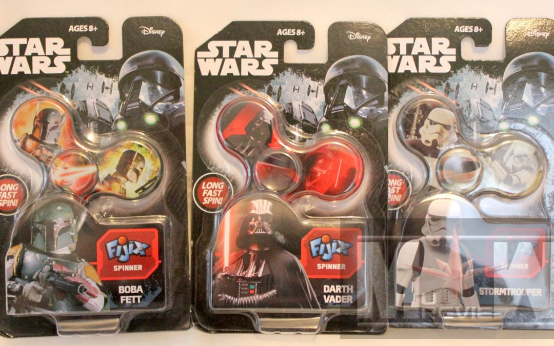 Magic Box: Uncle Milton Star Wars Fijix Spinners