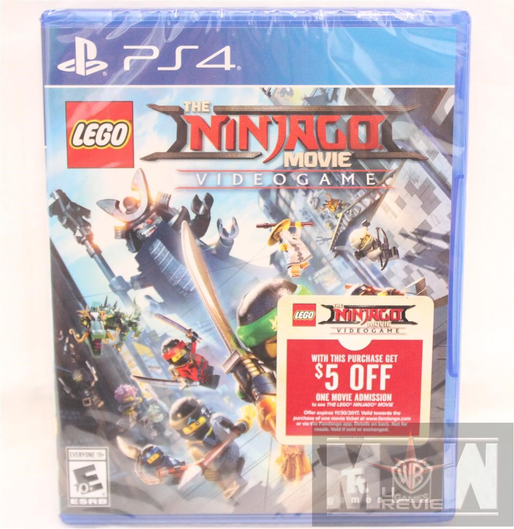 The LEGO Ninjago Movie Videogame for Playstation 4 | MUReview