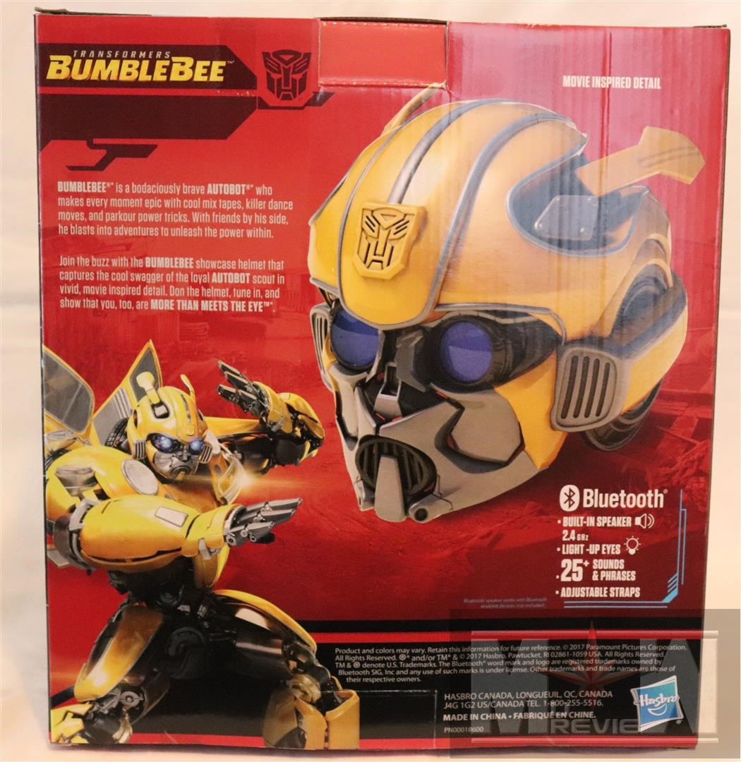 fc6a670eea0 Magic Box  Transformers Studio Series Bumblebee Showcase Helmet ...